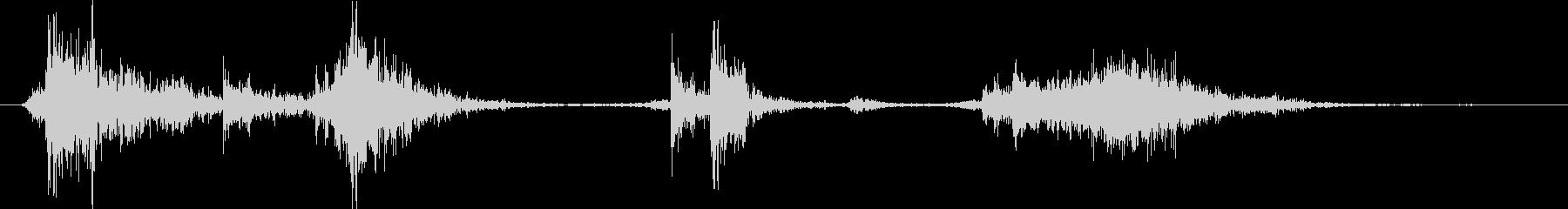 ピックアップトラック:Ext:重い...の未再生の波形