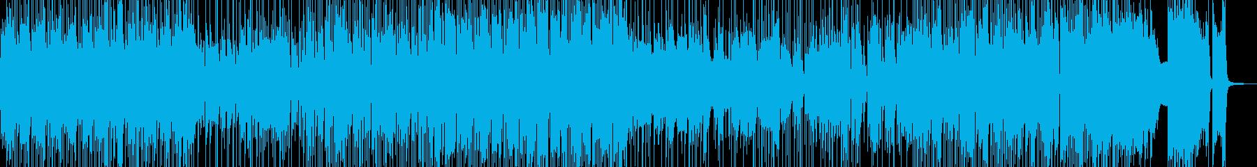 気ままドライブ・まったりしたジャズ 短尺の再生済みの波形
