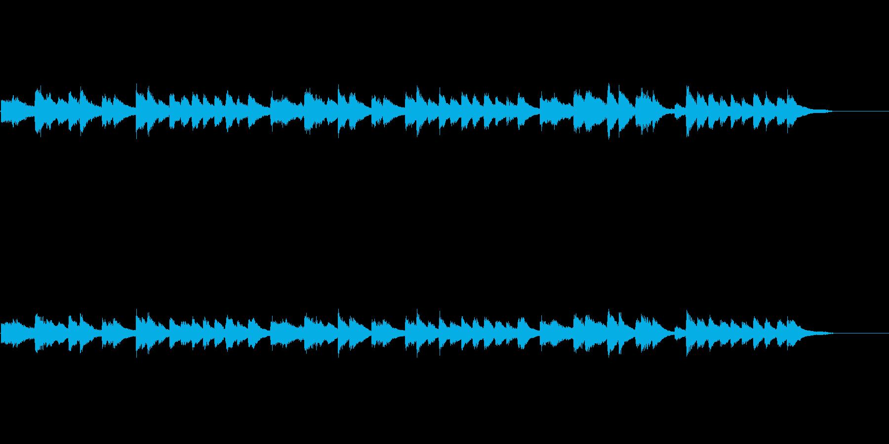 ヴィンテージピアノ モノラルの再生済みの波形