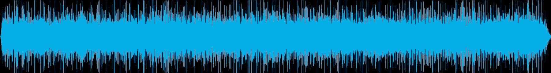 東京の川の音。湧き水の音です。の再生済みの波形