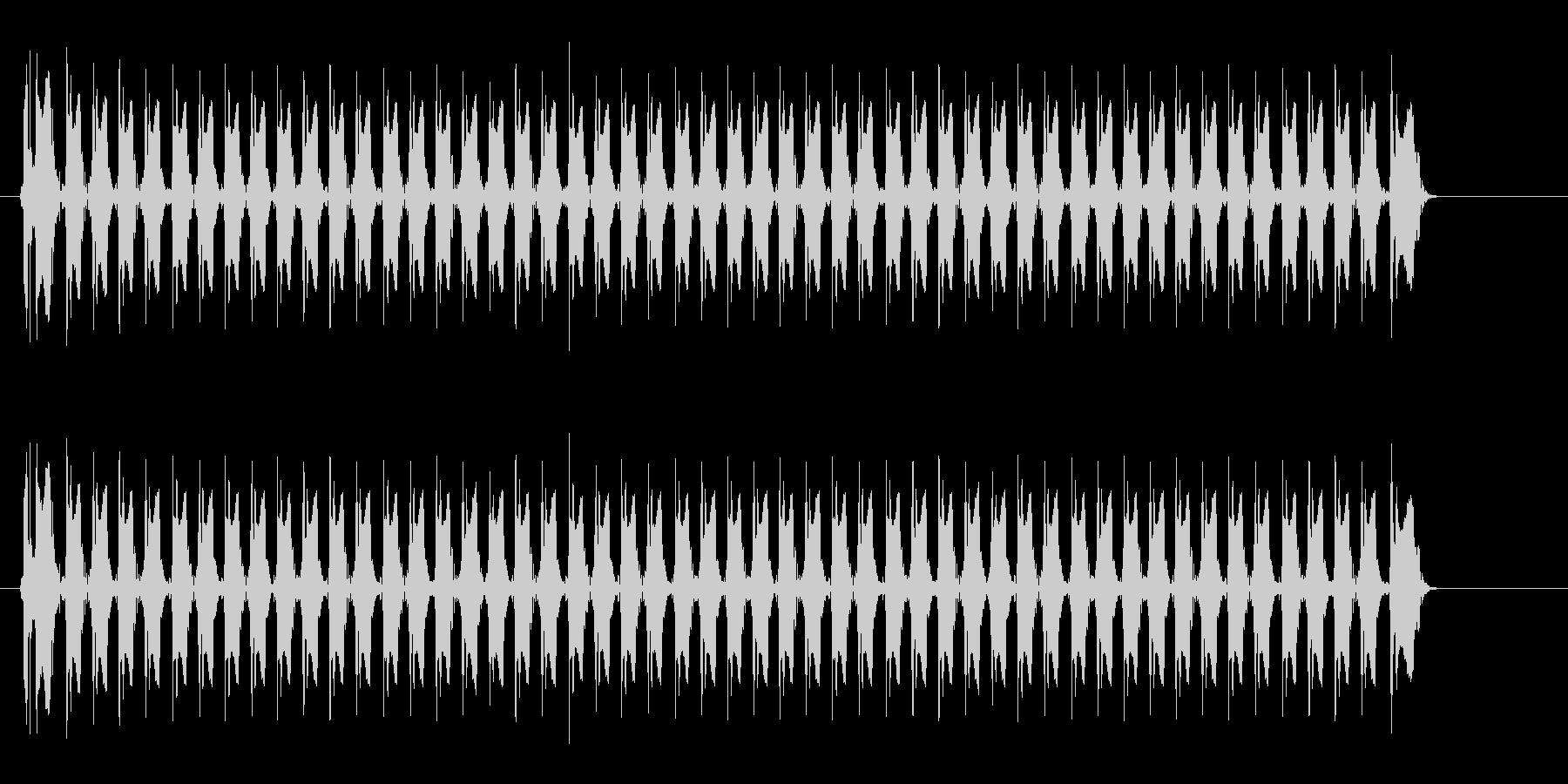 レーザー音-153-3の未再生の波形
