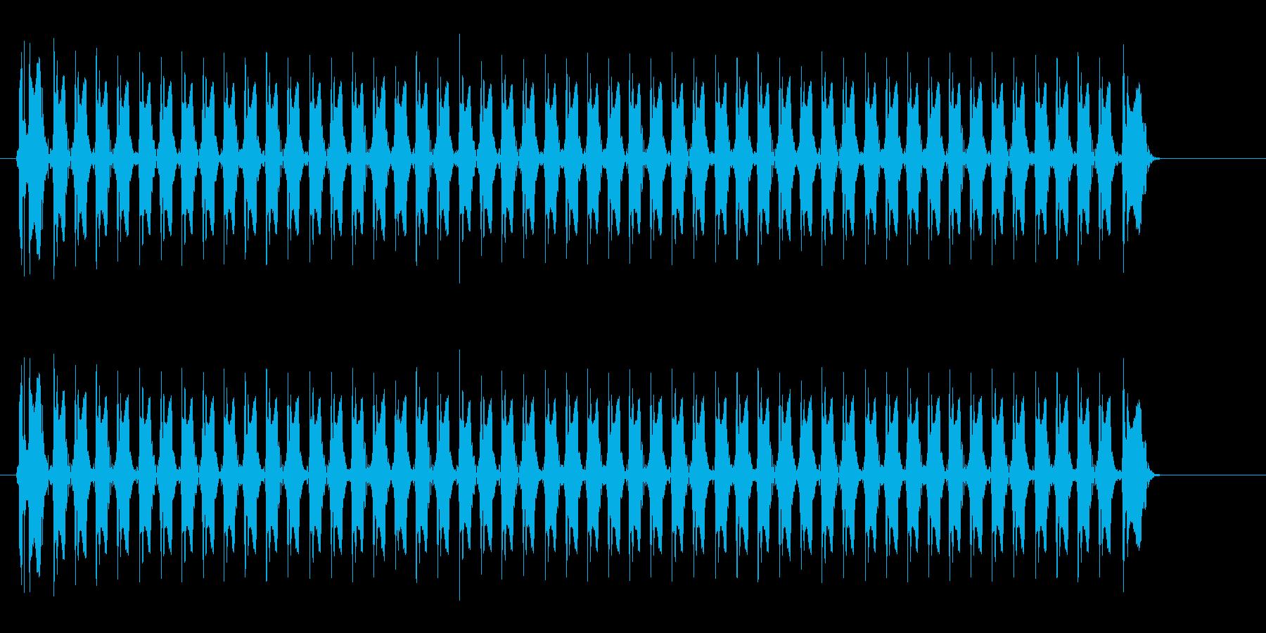 レーザー音-153-3の再生済みの波形