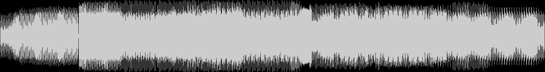 テックハウスの未再生の波形