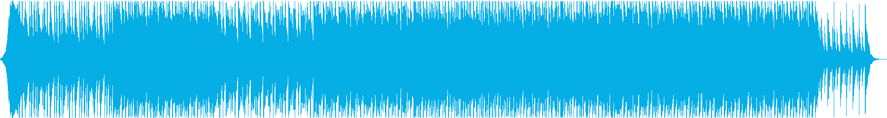 Asian style music's reproduced waveform
