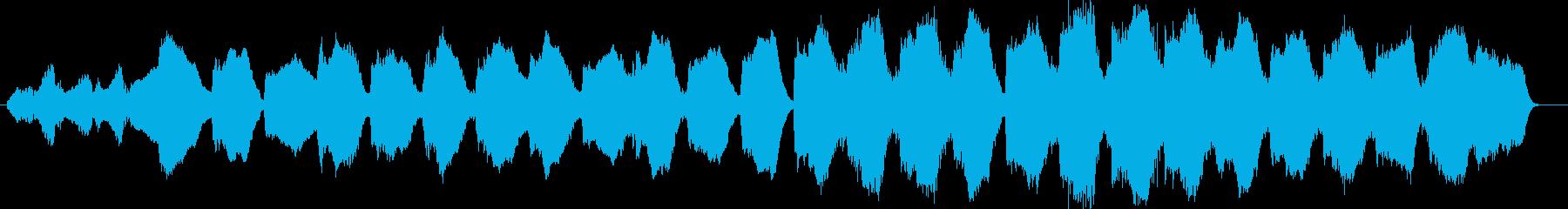 寂しげな管楽器やシンセなどのサウンドの再生済みの波形