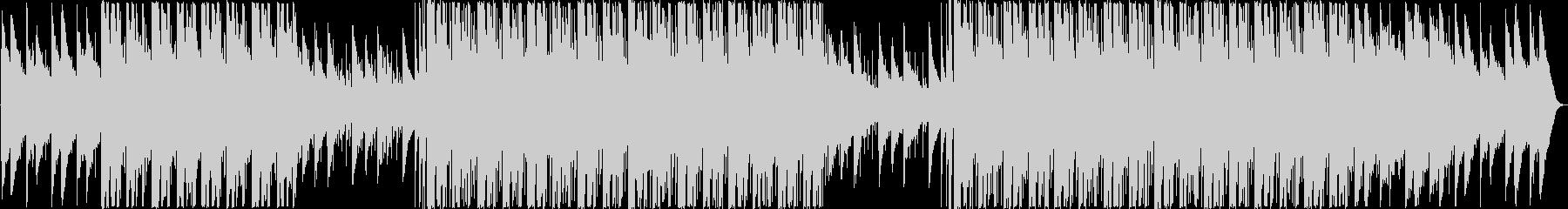オルゴールが奏でる美しいEDMの未再生の波形