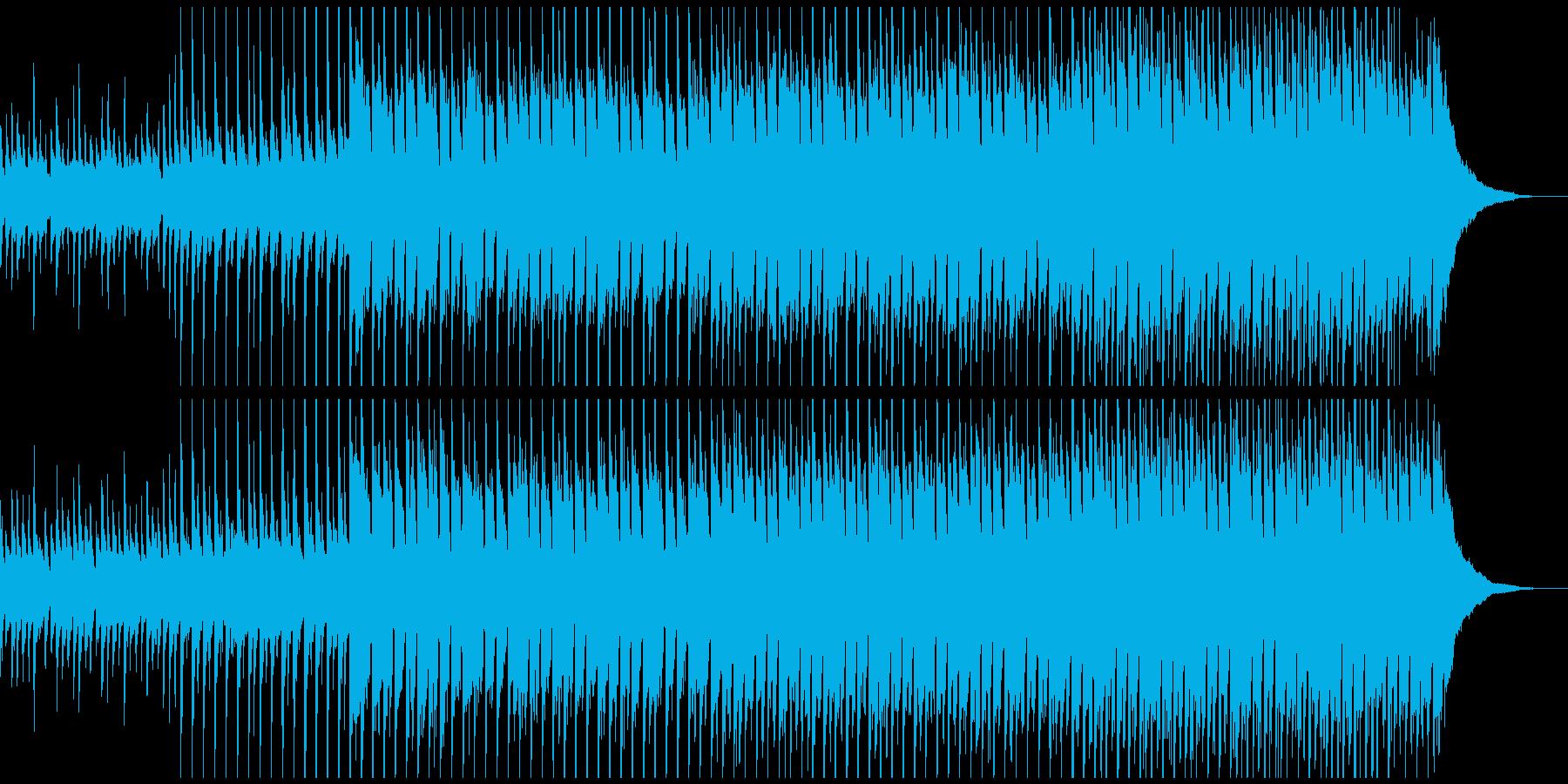 幸せになる(中)の再生済みの波形