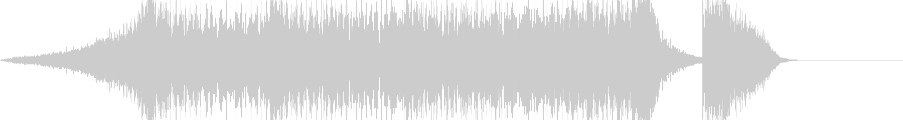 ハリウッド風トレイラー リズム主体04の未再生の波形