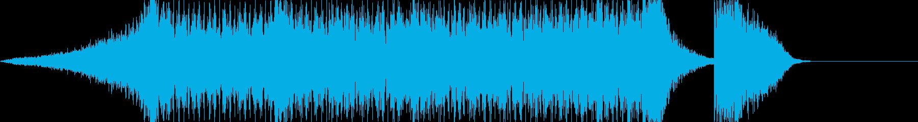 ハリウッド風トレイラー リズム主体04の再生済みの波形
