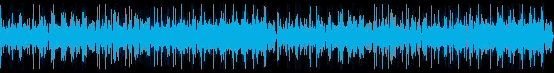 ループ可かわいい作業中日常の再生済みの波形