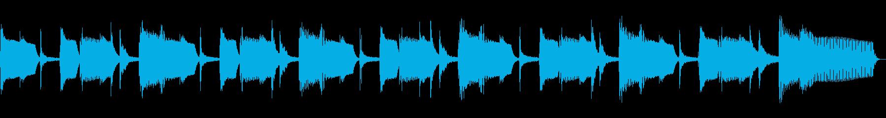 マルガリータ、スローテンポ、ベース...の再生済みの波形