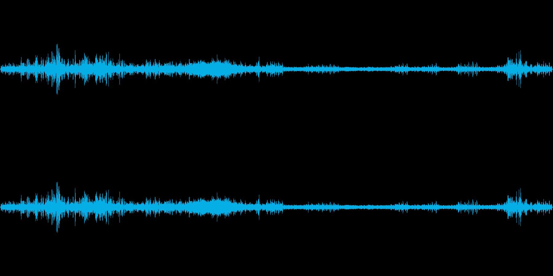 約1分の鳥の声環境音です。の再生済みの波形