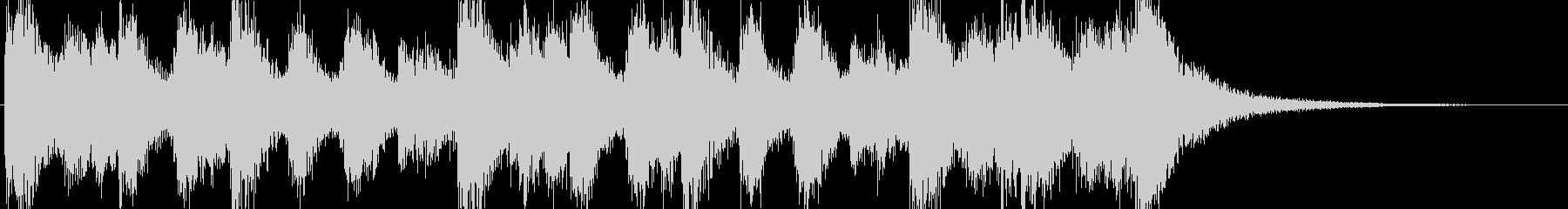 オーケストラ、ファンファーレ、マーチのんの未再生の波形