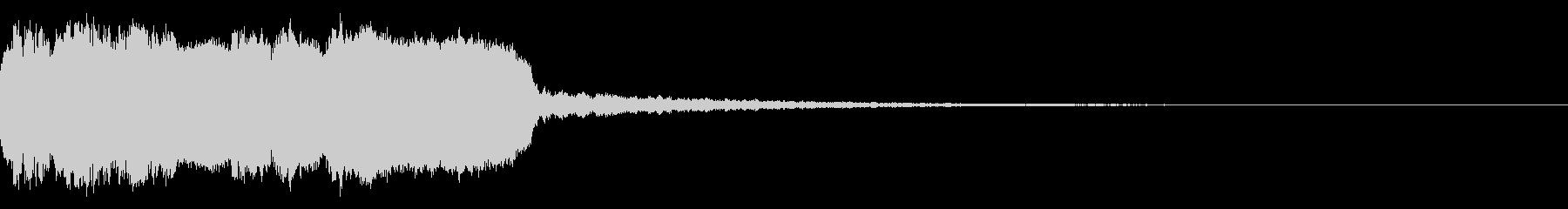 DJFX ヒットチャート発表前SE 22の未再生の波形