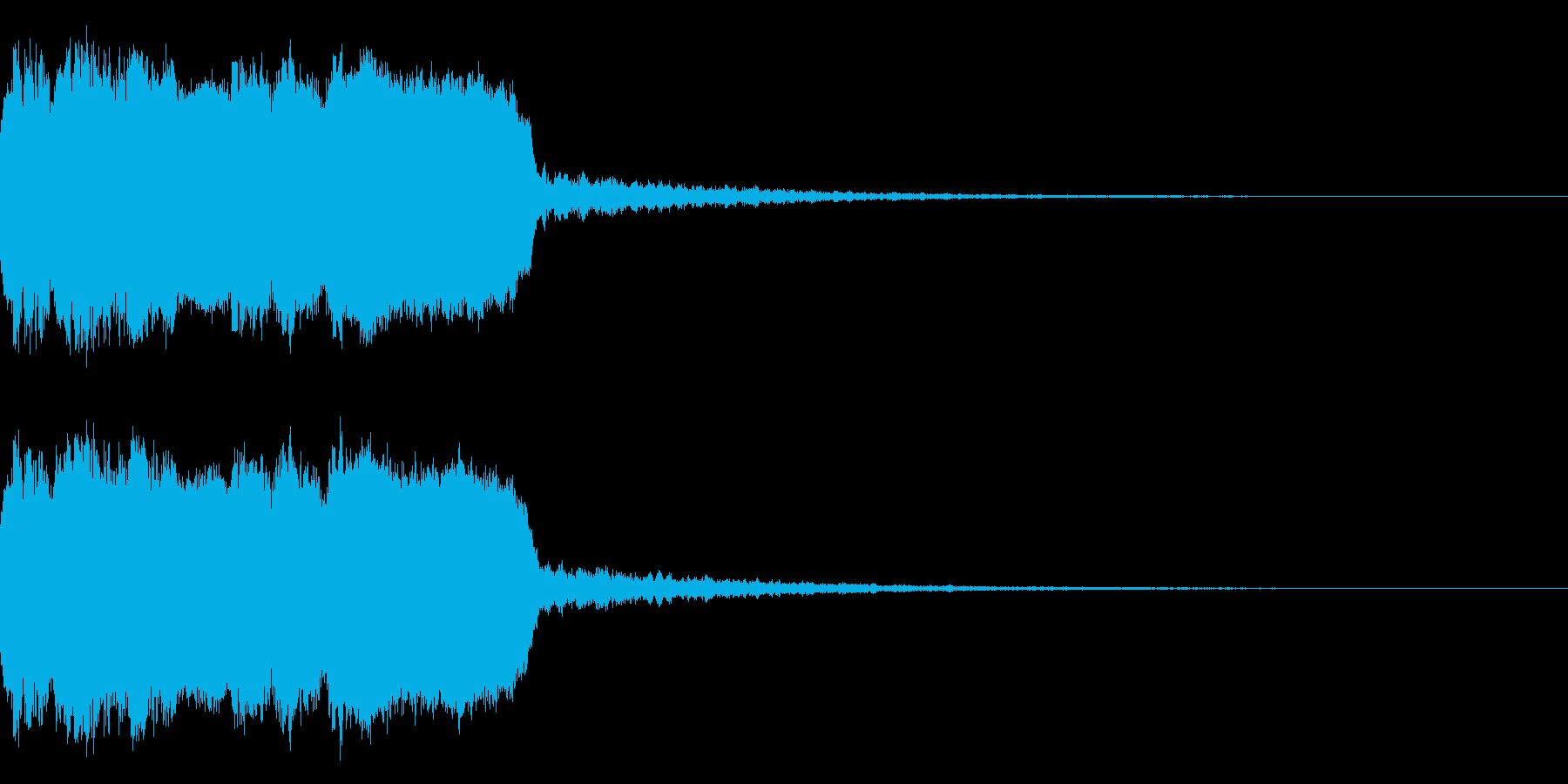 DJFX ヒットチャート発表前SE 22の再生済みの波形