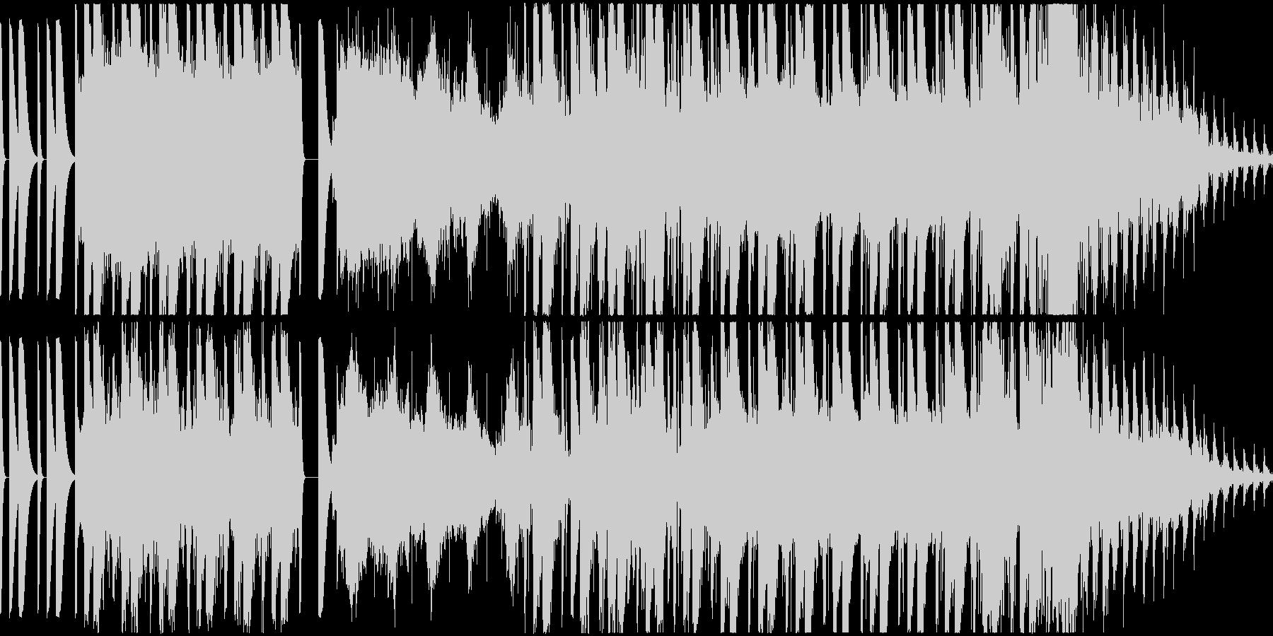 不思議な曲ですの未再生の波形