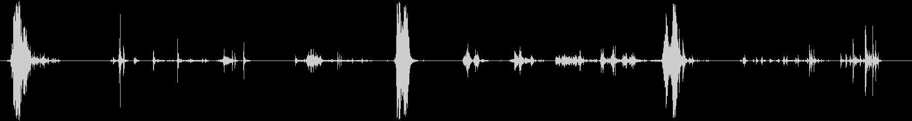 ガーニーショートムーブメントラトル...の未再生の波形