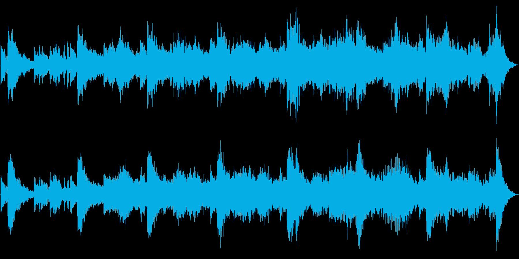 ドローン ミステリアスヒッツ01の再生済みの波形