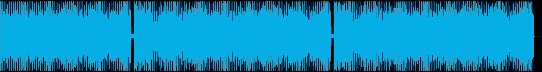 明るくキャッチーな4つ打ちPOPSの再生済みの波形