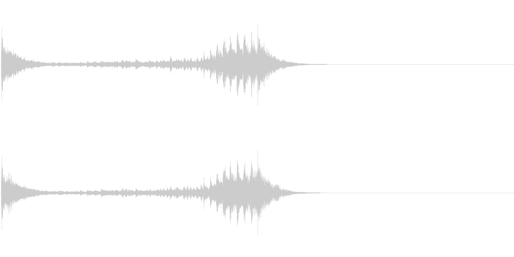 生演奏 琵琶 和風 古典風 残響有#13の未再生の波形