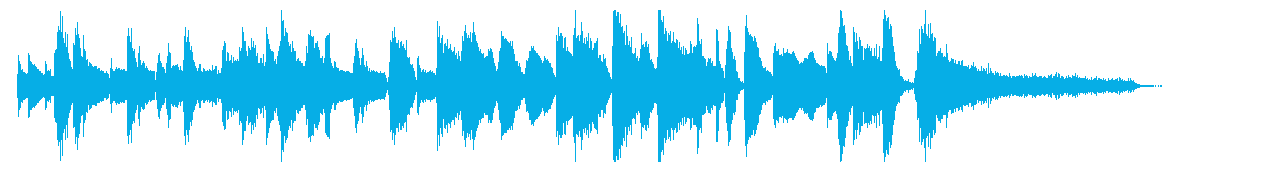 ジングル ジャズピアノ9の再生済みの波形