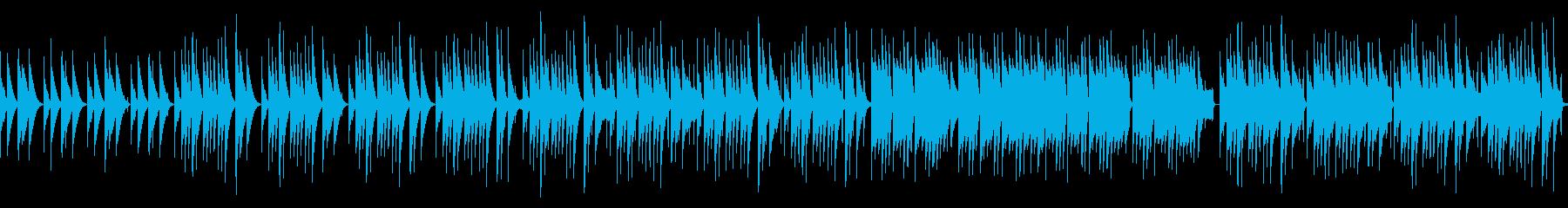 木琴と鍵盤ハーモニカのほのぼのとした曲の再生済みの波形