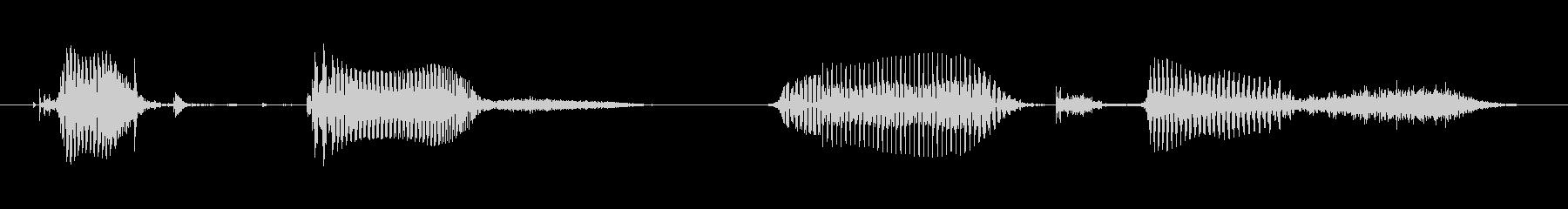 ミドルエイジドフィメールB:ゲット...の未再生の波形