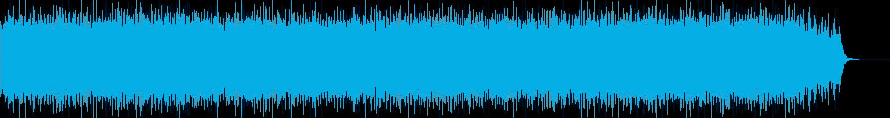 壮大で恐ろしい雰囲気のストリングスの曲の再生済みの波形