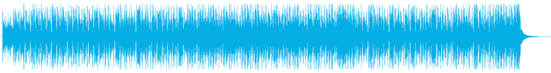 明るくポップなシャッフルの再生済みの波形