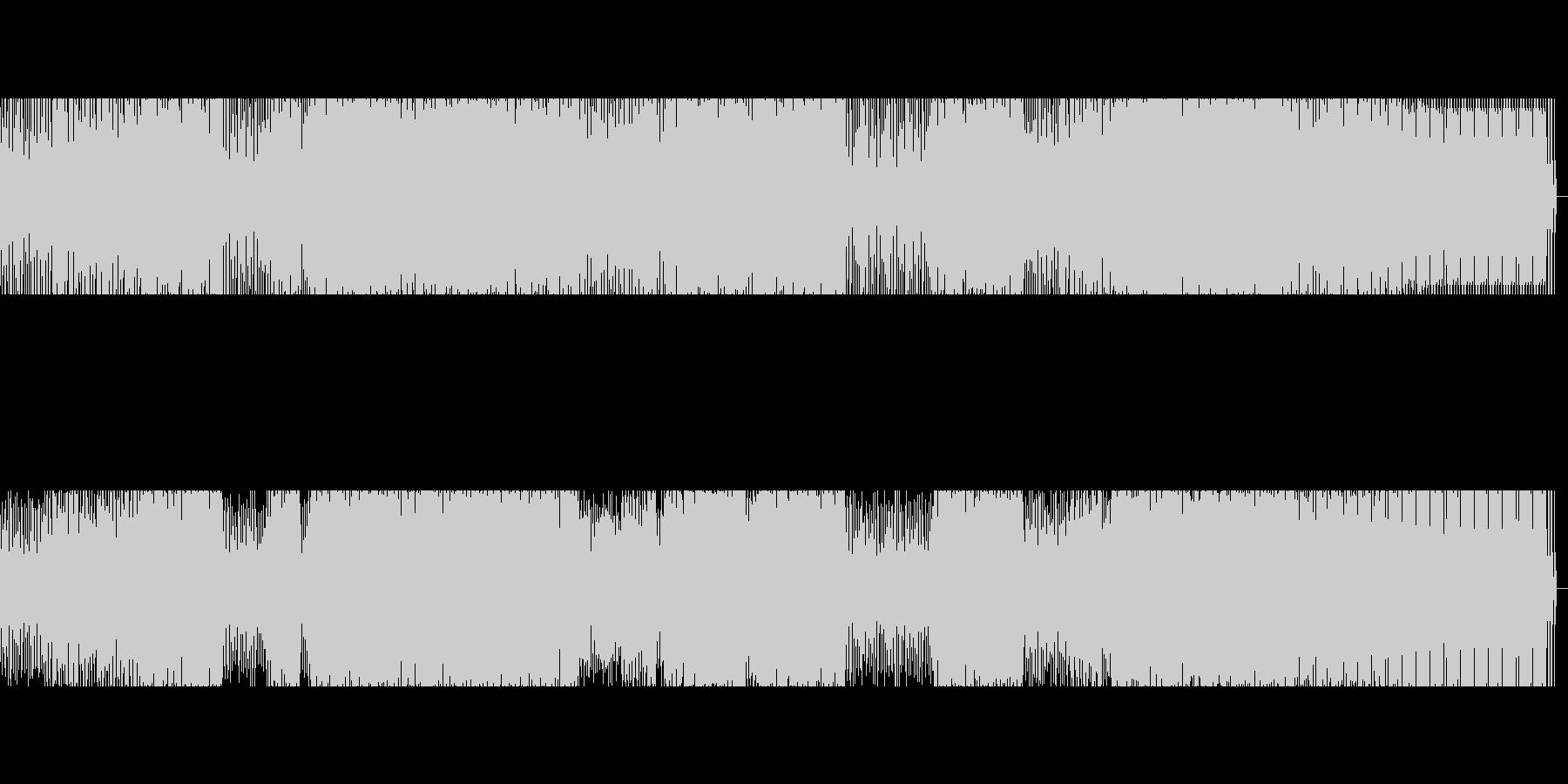 【低音強め】ダンスミュージックの未再生の波形