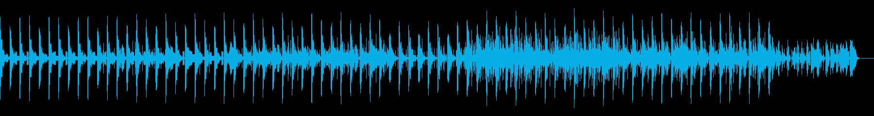 エクスペリメンタルなニカの再生済みの波形