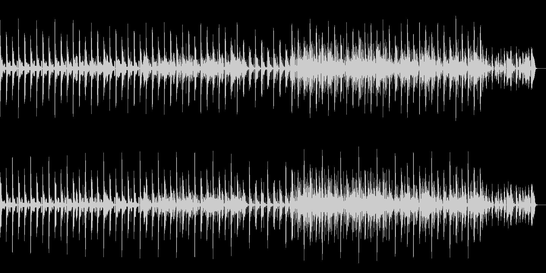 エクスペリメンタルなニカの未再生の波形