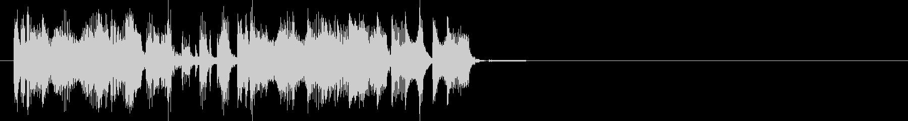 場面転換、動画作成に最適なEDMジングルの未再生の波形