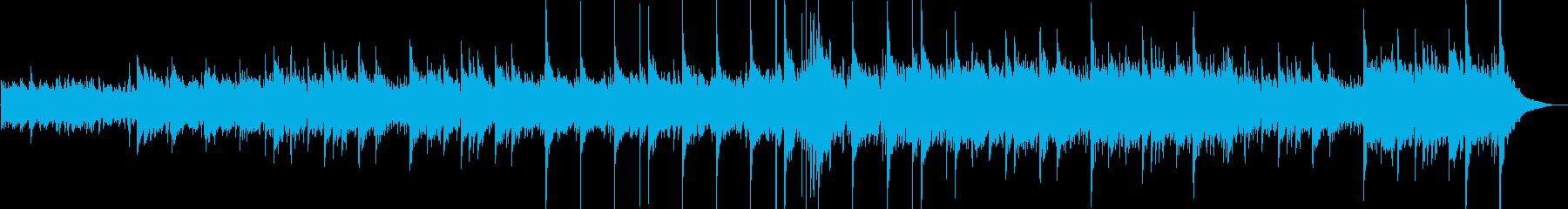 グロッケンシュピールの鐘、アコース...の再生済みの波形