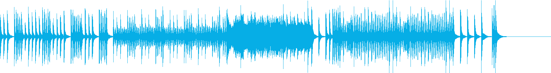 元気でカワイイ 子供映像向けピアノソロCの再生済みの波形