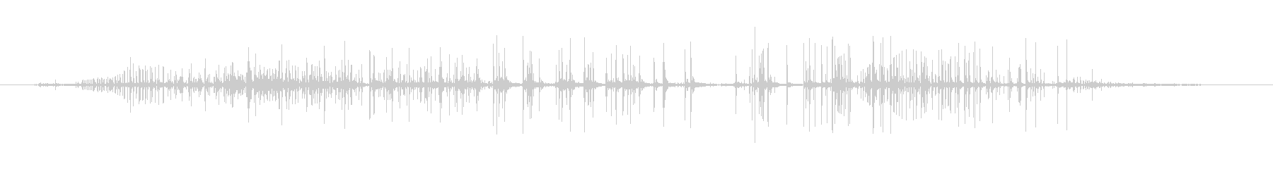 レザー レザークリーク04の未再生の波形