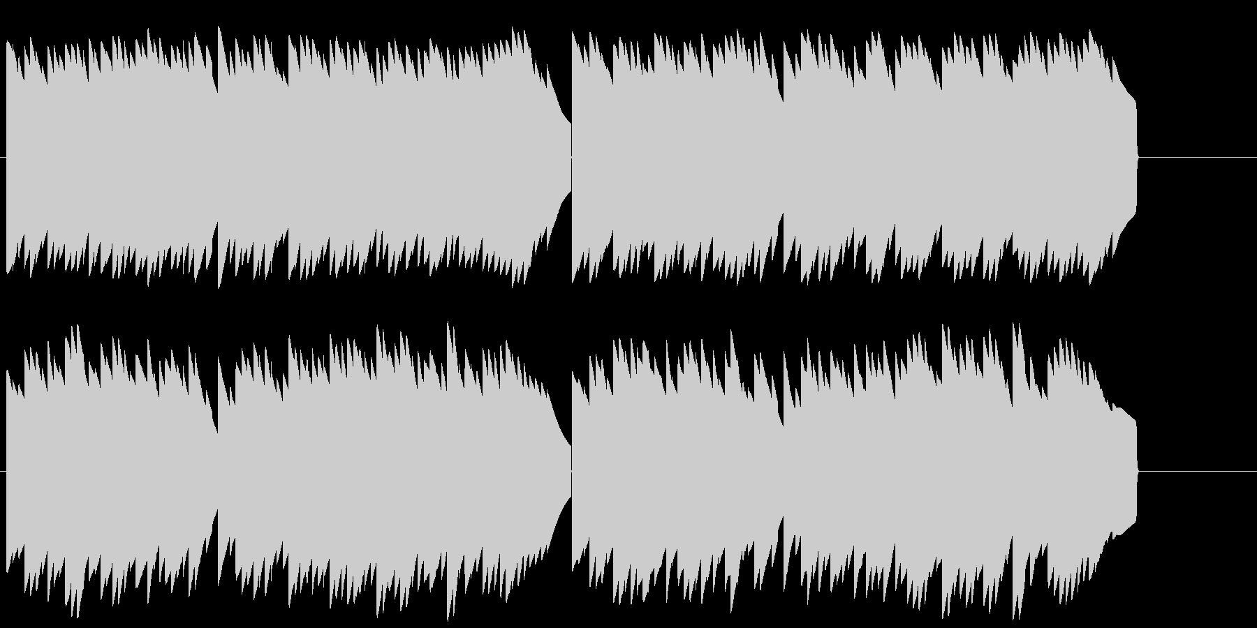 電話保留音 電子音 着信メロディの未再生の波形