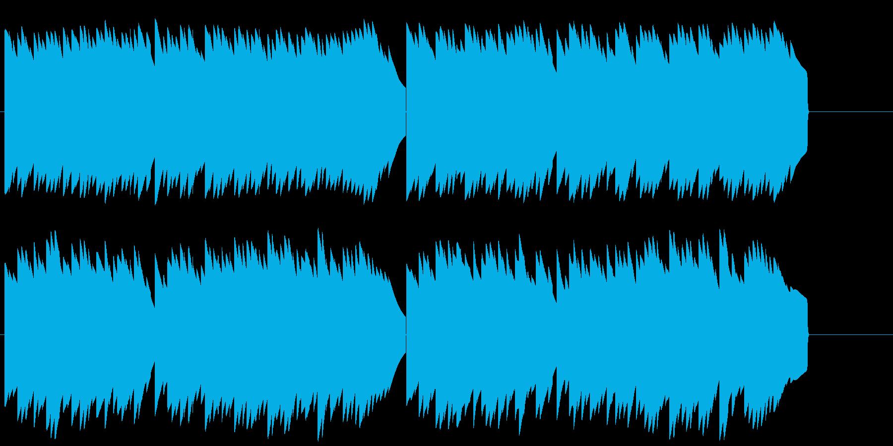 電話保留音 電子音 着信メロディの再生済みの波形