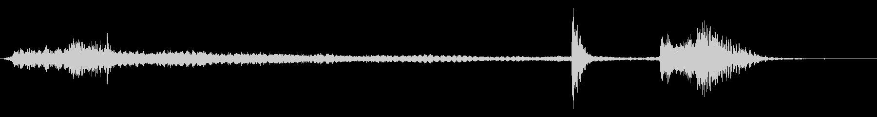 旋盤ターンオンターンオフチェンジギ...の未再生の波形