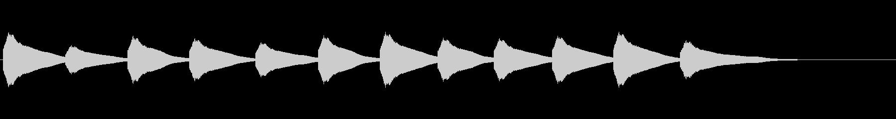 【鐘の音_07】カーン/教会/12時の未再生の波形