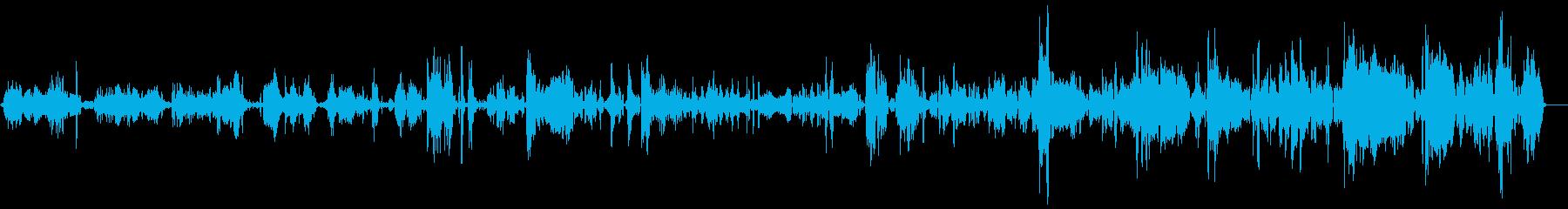 ゾンビ、シングルグロール呼吸1-10の再生済みの波形