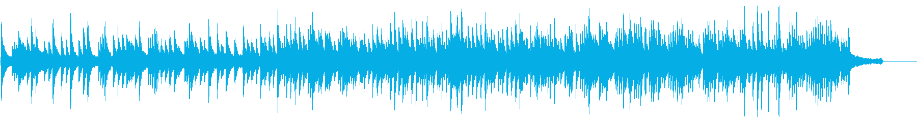 ラウンジ向きカノンをモチーフのピアノソロの再生済みの波形