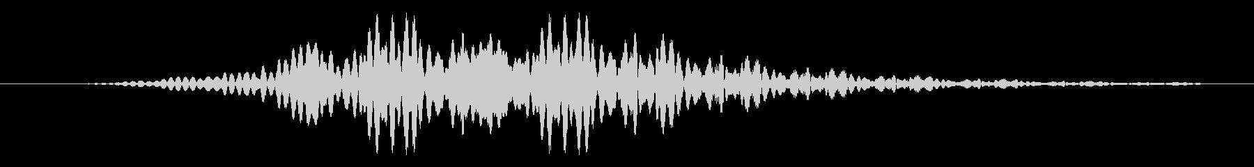 短いエイリアンスロブパルスの未再生の波形