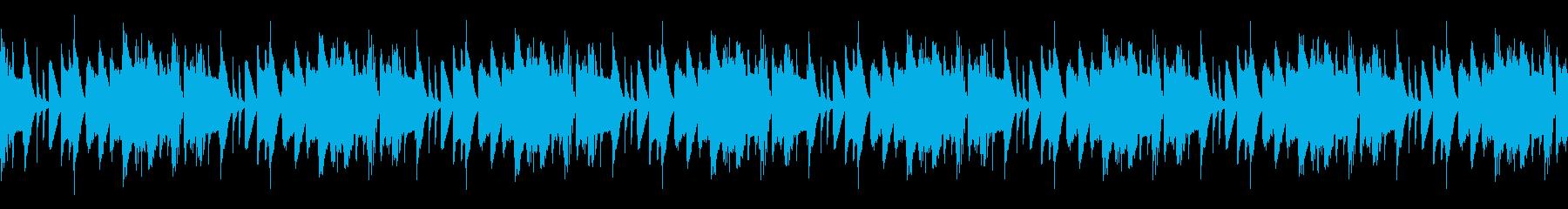 テンポ感がいいジャズハウスの再生済みの波形
