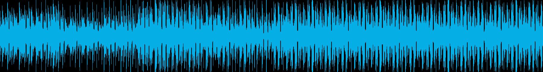 VP、CM、クールで軽快な透明感ループcの再生済みの波形