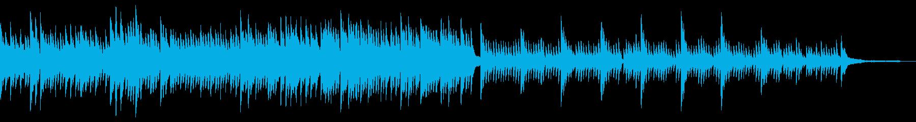 簡単に聴けるピアノ楽器。感傷的でデ...の再生済みの波形