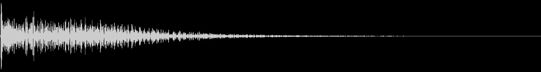 レーザー・電子砲・ビーム・光線銃の未再生の波形