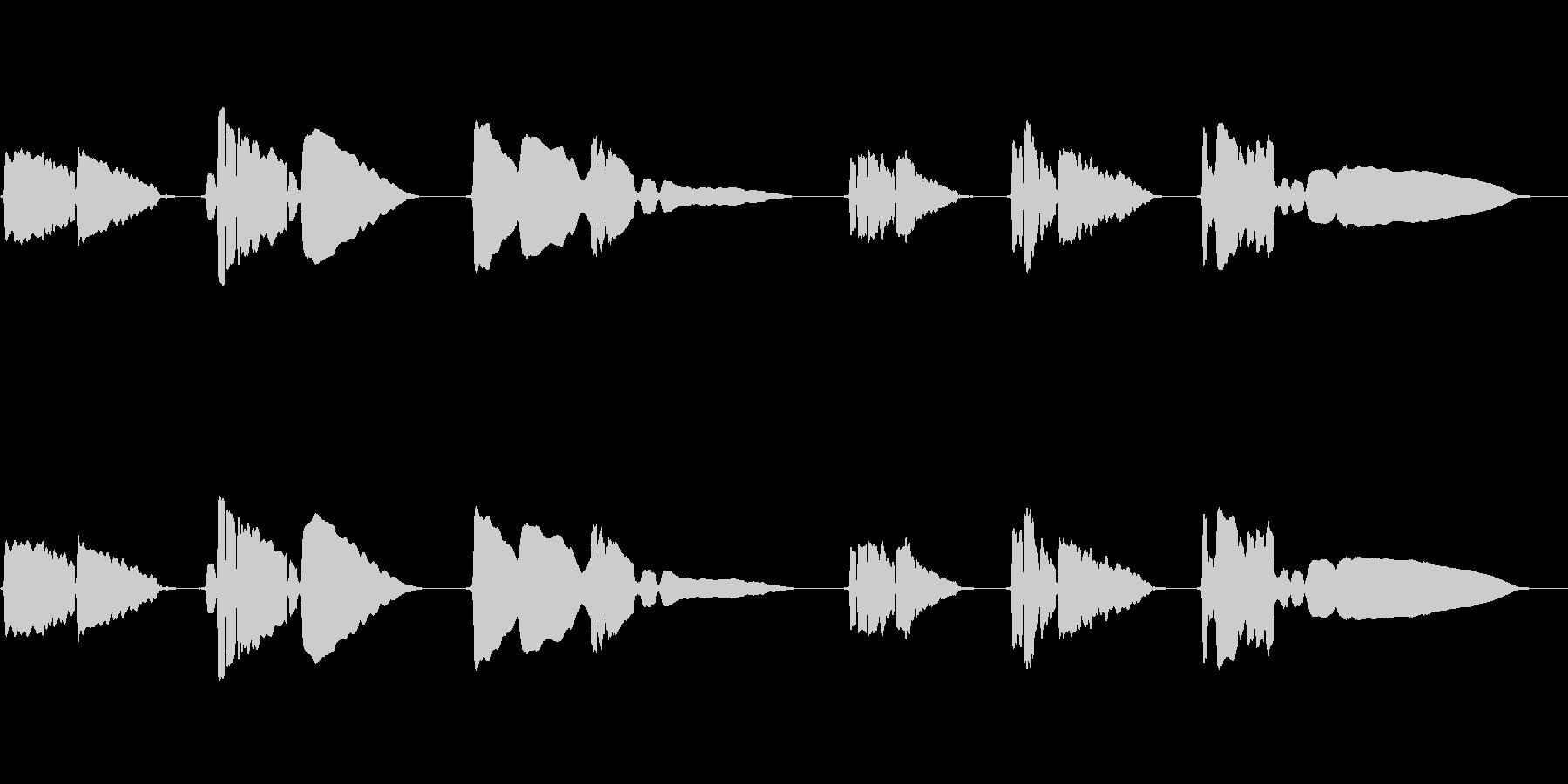 SAX一本の切ない曲です。の未再生の波形