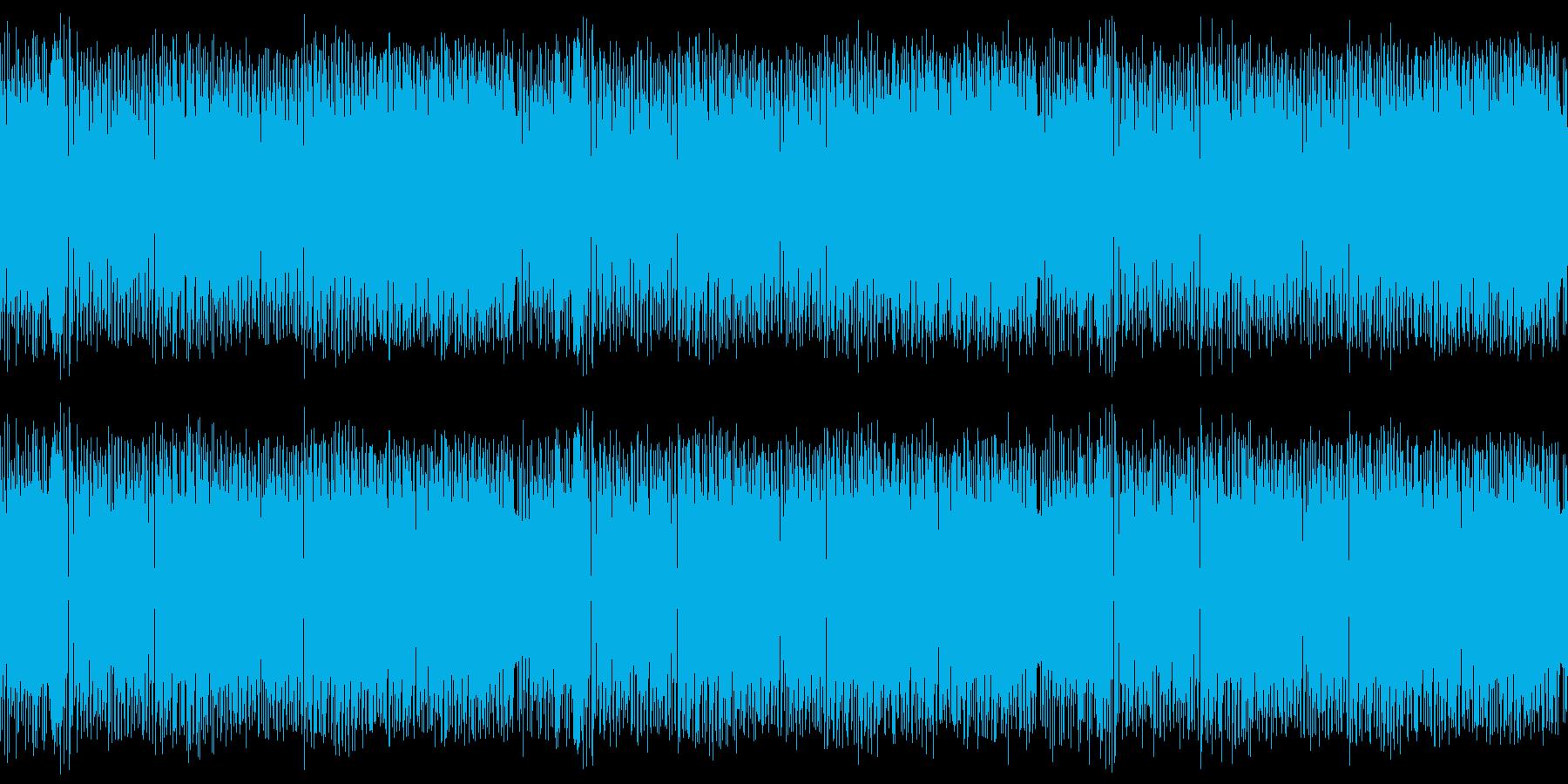 レトロゲーム風・ウキウキ・爽やかな感じの再生済みの波形