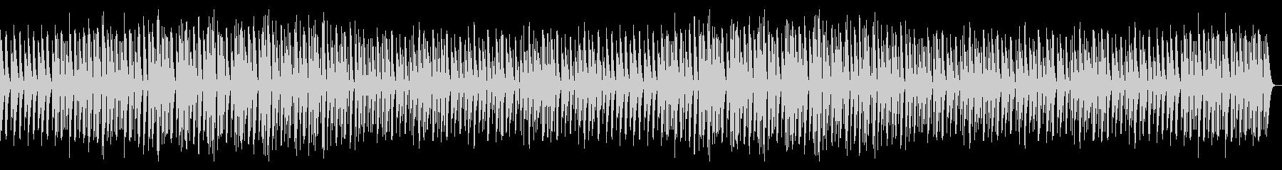 楽しいマリンバのBGMの未再生の波形
